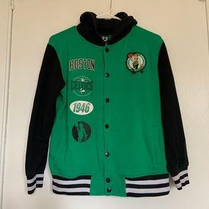 NBA Boston Snap Button Jacket size L